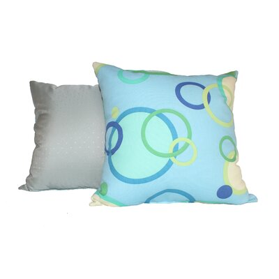 Elsinboro Rings Cotton Throw Pillow