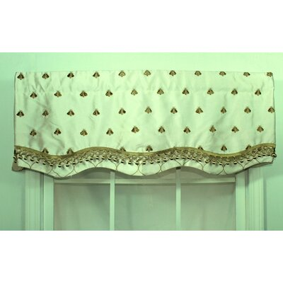"RLF HOME Bumblebee Glory 50"" Curtain Valance - Color: Cream at Sears.com"