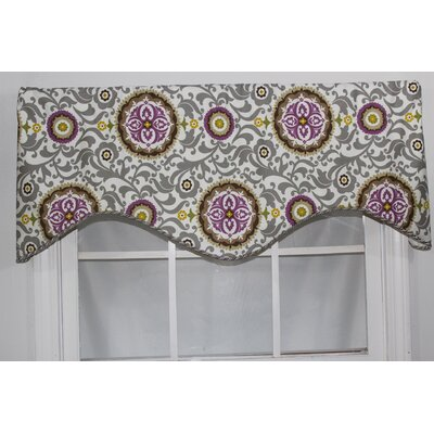 "RLF HOME Celestial 50"" Curtain Valance - Color: Sterling at Sears.com"