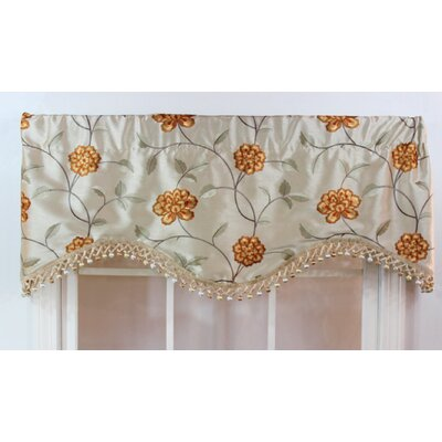 "RLF HOME Stella 50"" Curtain Valance - Color: Beige at Sears.com"