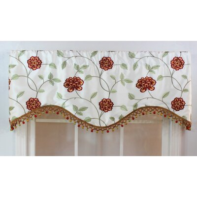 "RLF HOME Stella 50"" Curtain Valance - Color: Ivory at Sears.com"