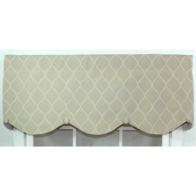 "RLF HOME Porte Bouton 50"" Curtain Valance - Color: Beige at Sears.com"