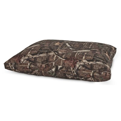 Mossy Oak Gusseted Dog Pillow Bed