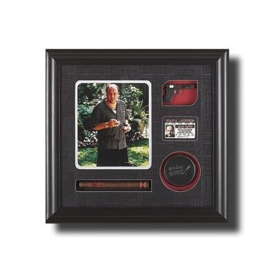 Buy paradon cigars - Legendary Art Framed Tony Soprano Artwork