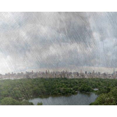 Carlyle Fine Art Landscape Central Park Framed Graphic Art