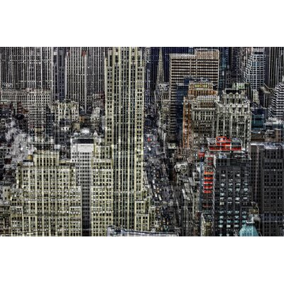 """Carlyle Fine Art Architecture Inception No.2 by Jordan Carlyle Graphic Art - Size: 54"""" x 72"""" at Sears.com"""