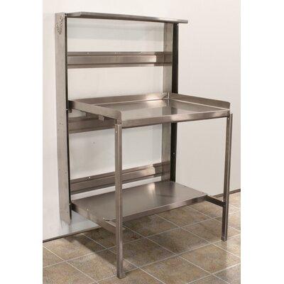 Prep Table Size: 48 W x 24 D