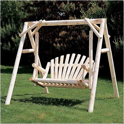 Porch Swing with Stand Size: 5 W