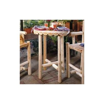 "Rustic Cedar Bistro Table - Table Top Size: 42"" at Sears.com"