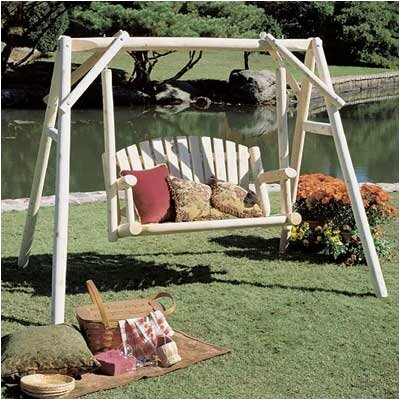 Porch Swing with Stand Size: 4 W