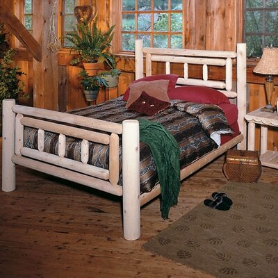 In store financing Deluxe Log Slat Bedroom Collection...