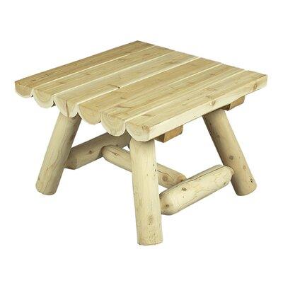 Square Cedar Coffee Table Finish: Natural