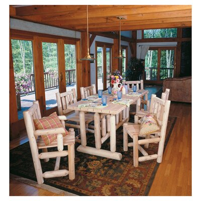 Cedar Harvest Family Dining Table Finish: Natural