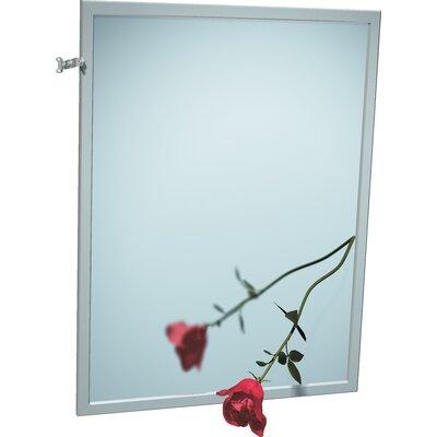 "Angle Frame Mirror Size: 36"" H X 18"" W"