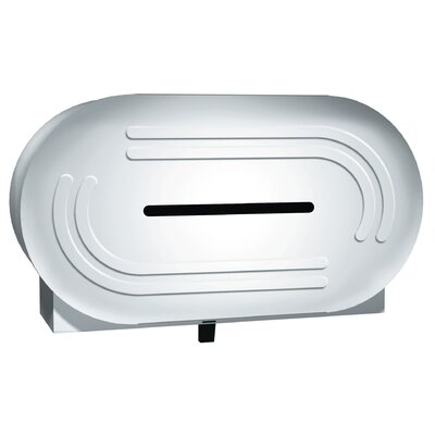 Jumbo-Roll Toilet Tissue Dispenser