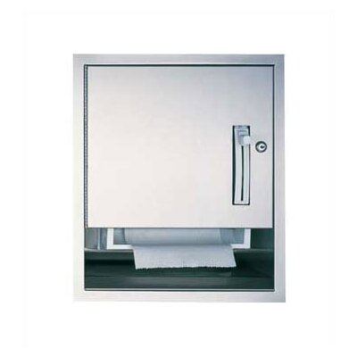 Traditional Compact Roll Paper Towel Dispenser Mounting: Surface
