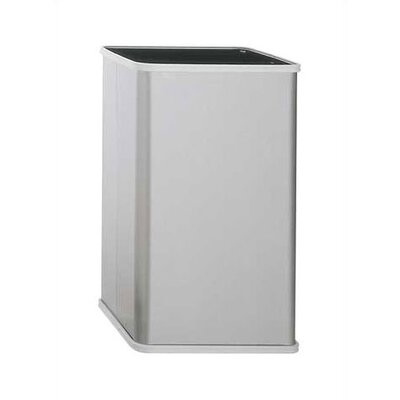 Traditional Free Standing Waste Receptacle Capacity: 13 Gallon