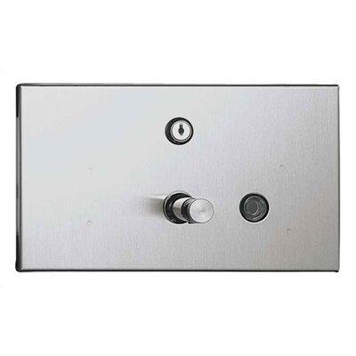 Recessed Horizontal Liquid Soap Dispenser