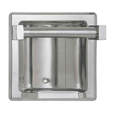 Recessed Soap Dish with .75 Bar Finish: Bright, Wall Type: Wet Wall