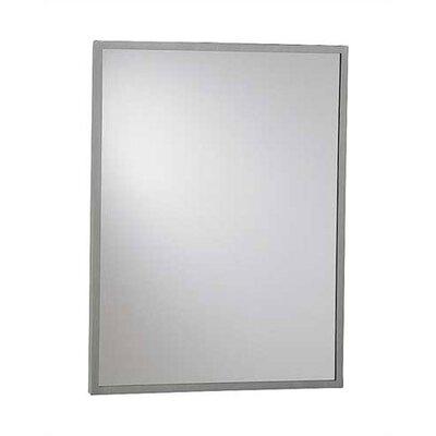Inter-lok Angle Frame Wall Mirror Reflective Surface: Plate Glass