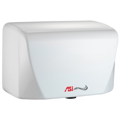 Turbo-Dri Junior High Speed Surface Mounted 120 Volt Automatic Hand Dryer in White