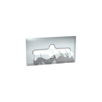 Recessed Facial Tissue Dispenser Capacity: 600 Single Ply Tissues, Finish: Satin