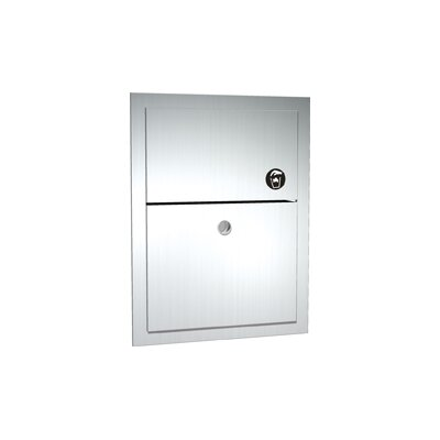 Recessed or Surface Mounted Sanitary Napkin Disposal