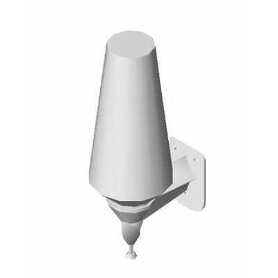 Push-Up Type Soap Dispenser with White Polyethylene Globe Capacity: 28 oz.