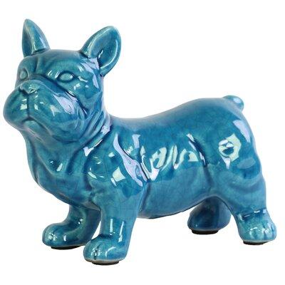 Ceramic Standing French Bulldog Figurine 13836