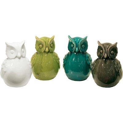 Ceramic Owl Assortment 28099-AST