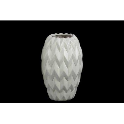 """Vase Size: 11.5"""" H x 7.5"""" W x 7.5"""" D 21412"""