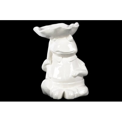 Sitting Frog Figurine 39724