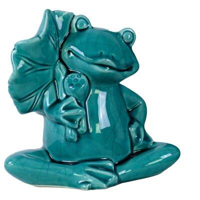 Sitting Frog Figurine 39720