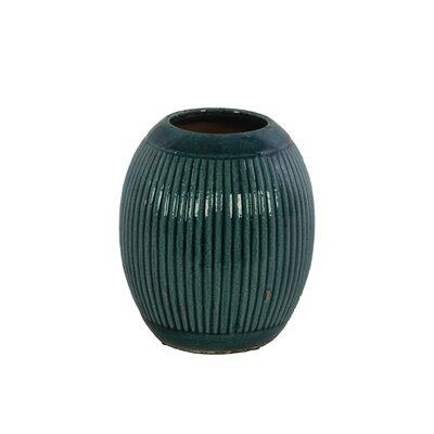 Ceramic Round Ribbed Table Vase BNRS7955 40832047
