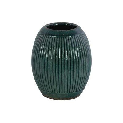 Ceramic Round Ribbed Table Vase BNRS7955 40832046