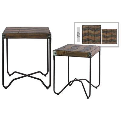 Dexheart 2 Piece Nesting Tables