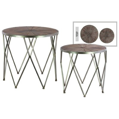Lonegan 2 Piece Nesting Tables