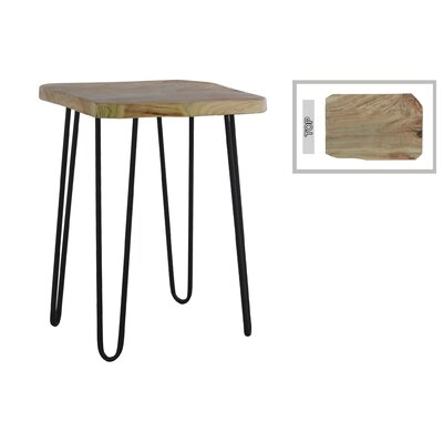 Oxford Square Wood End Table