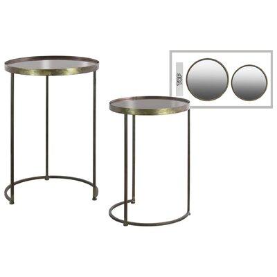 Gerdie Round Metal 2 Nesting Tables