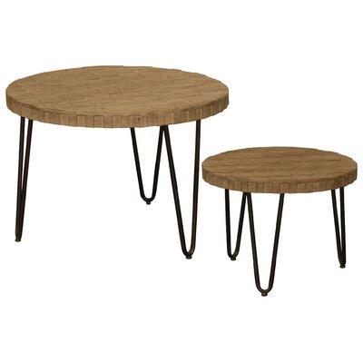 Burdette Round 2 Piece Coffee Table Set