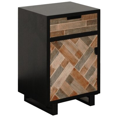 Georgina Rectangular Metal End Table