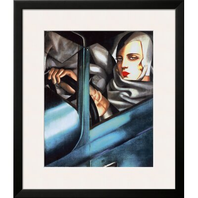 'Autoportrait' by Tamara de Lempicka Framed Graphic Art 10215540