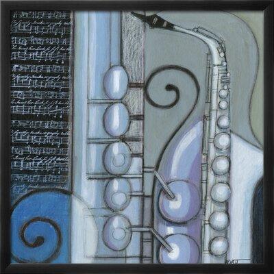 'Cool Jazz IV' by Norman Wyatt Jr. Framed Painting Print 14379119
