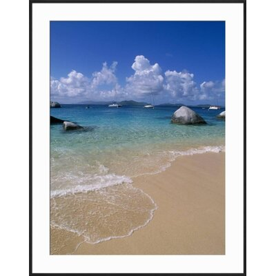 'The Baths, Virgin Gorda, British Virgin Islands' Framed Photographic Print 15146173