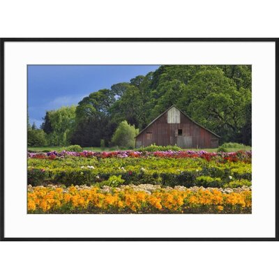 "'Point Dume, Malibu, California, USA' Framed Photographic Print Frame: Ronda Ii Black Framed, Size: 21"" H x 29"" W 15191408"