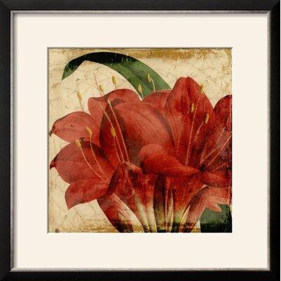 'Vibrant Floral VIII' Framed Print 15199960