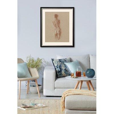 'Standing Figure Study II' Framed Print 15196411