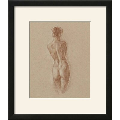 'Standing Figure Study II' Framed Print 2818ACB151B449058D41C8A498B0911E