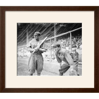 "'Al Bridwell & Jimmy Archer, Chicago Cubs, Baseball Photo' Framed Memorabilia Frame: Soho Espresso/Brown Framed, Size: 18"" H x 20"" W 310E7BD9EA4F4C87A130A9A9E3A3F969"