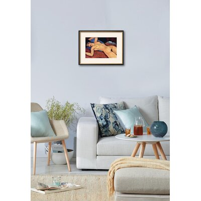 'Reclining Nude' Framed Print 15174349